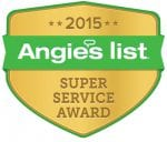 """Angie's List Super Service Award 2015"""