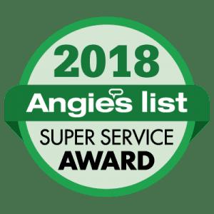 Angies List 2018 Super Service Award Logo