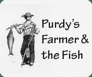 Purdy's Farmer & the Fish Logo